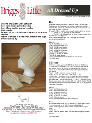 Free Knitting Patterns – Wool Knitting Yarn from Briggs & Little