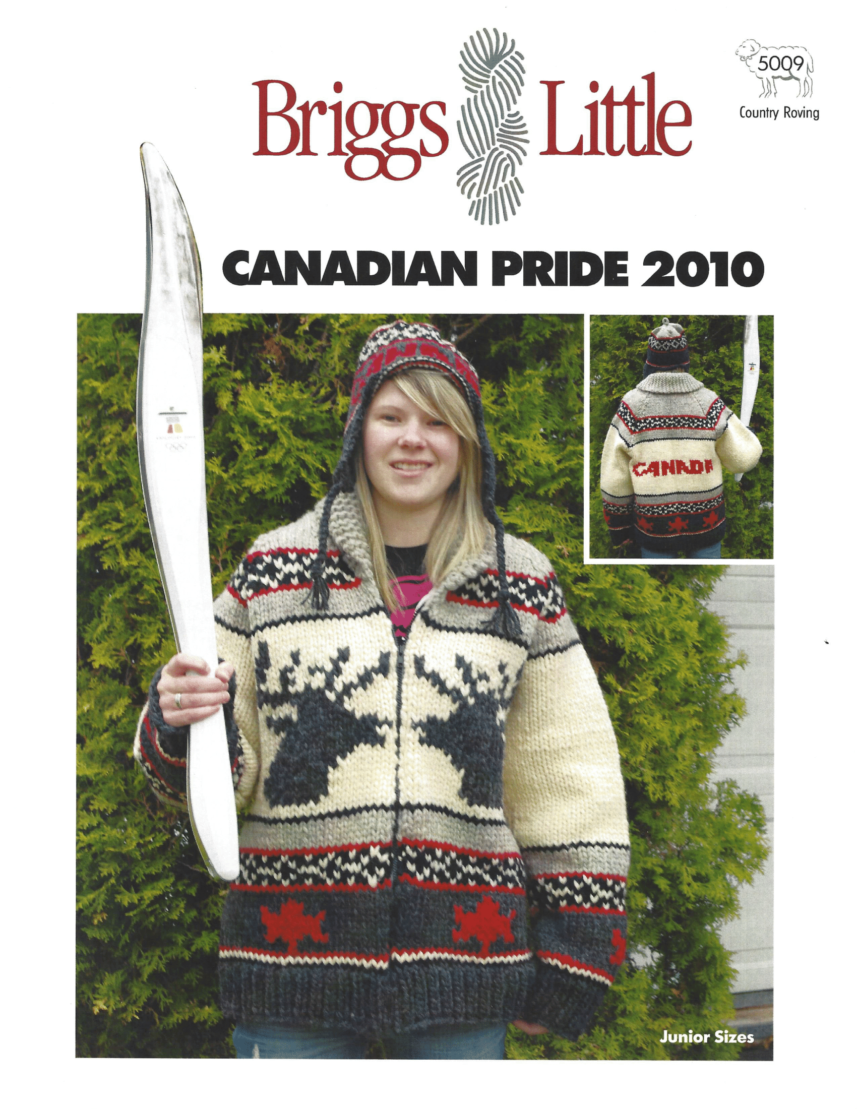 Canadian Pride Youth Wool Knitting Yarn From Briggs Little